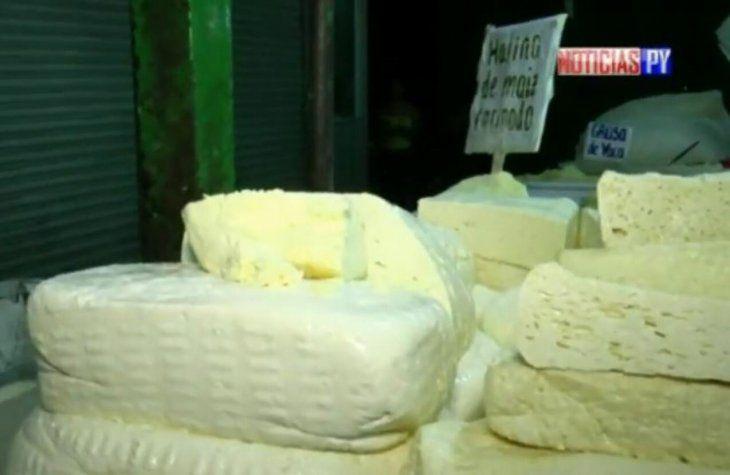 El queso paraguay es el ingrediente más solicitado.
