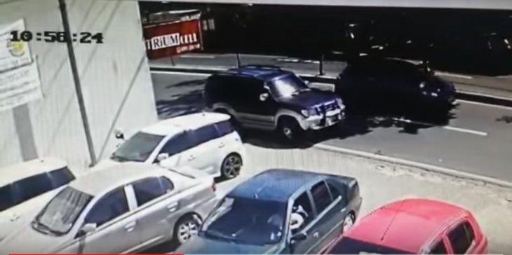 Video de la imprudencia del conductor fue viralizado.