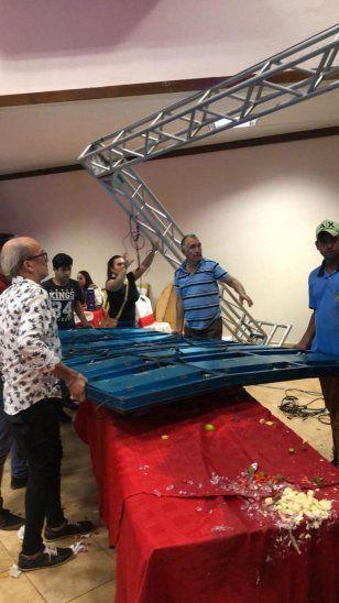 Toro se escapó y causó tremendo susto en la Expo Canindeyú