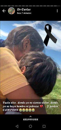 Niño de 5 años murió por deshidratación en medio de la inundación