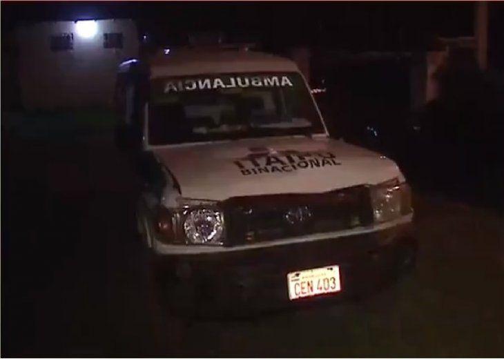El hecho ocurrió en el kilómetro 27 de la ruta 3. La ambulancia quedó retenida en la comisaría 47 Central.