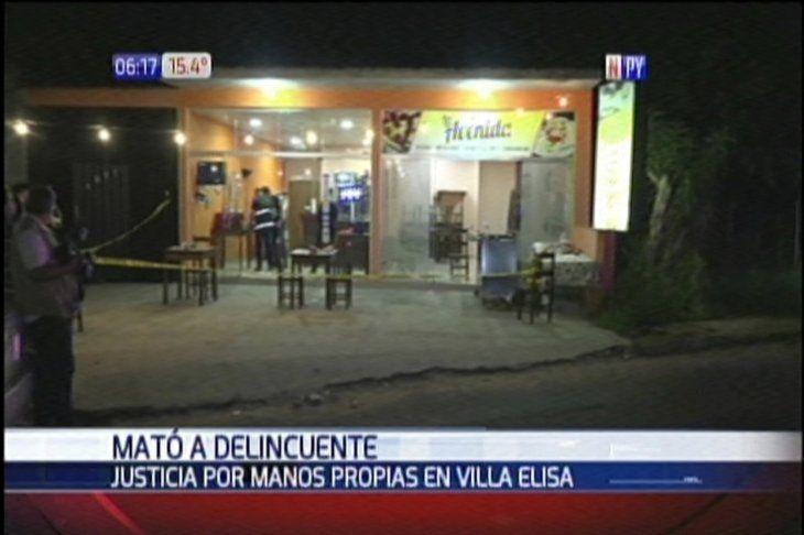 El local está ubicado en Villa Elisa.