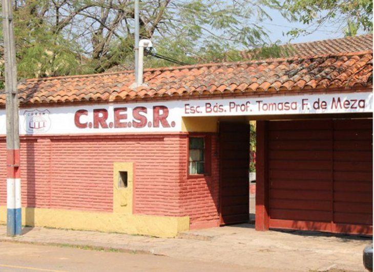 El homenaje a los maestros no pudo culminar en la escuela Tomasa Ferreira de Meza (Foto archivo de ÚH).