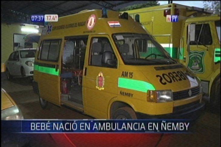 Ambulancia de los Bomberos de Ñemby.