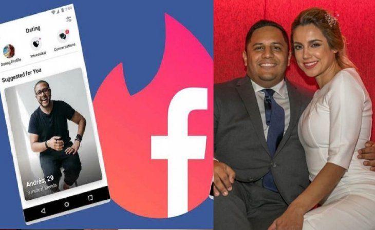Vivi Figueredo y su esposo Giancarlo Álvarez se conocieron a través de las redes sociales. Luego de conocerse hasta se casaron