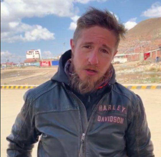El fiscal Rogelio Ortúzar denunció el hecho mediante un video.