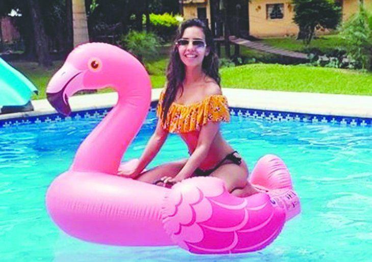 Sofía comenzó en los medios como bailarina; en la temporada pasada del Baila acompañó a Ale López. No sabe si bailará este año.