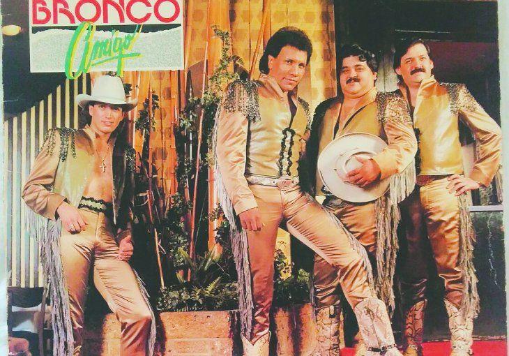 Los primeros integrantes de Bronco.