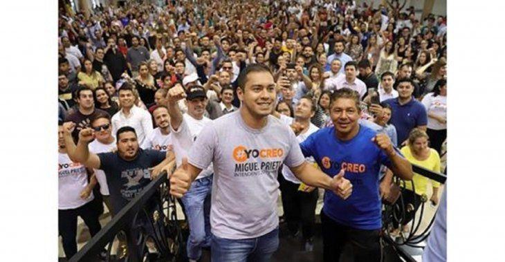 Miguel Prieto y su equipo político independiente