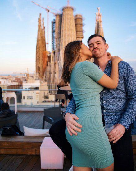 El yanki y la paraguaya al parecer no la están pasando del todo bien. Foto: Facebook