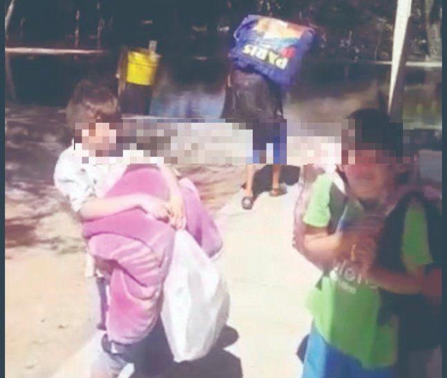 Escuela que funciona como internado se inundó y mandaron a casa a 280 niños