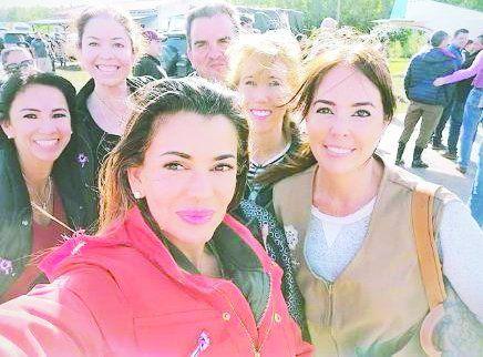 Marly Figueredo viaja como voluntaria acompañando a la primera dama Silvana Abdo