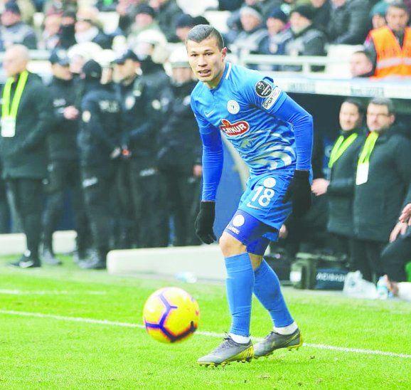 El delantero paraguayo de 23 años