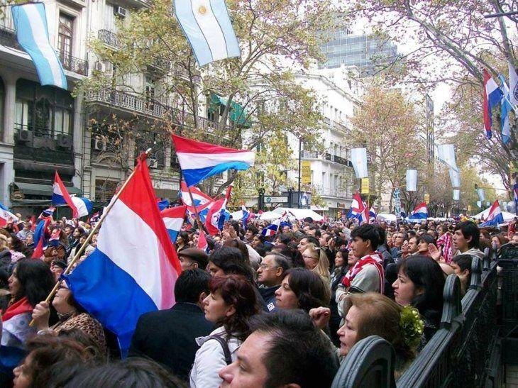 Movilización comenzará a las 18:00 frente al Consulado Paraguayo en Buenos Aires. (Ilustración).