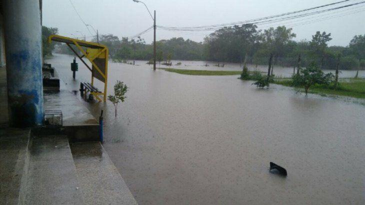Inundaciones en Pilar: La gente viaja 4 horas para buscar un poco de coquito