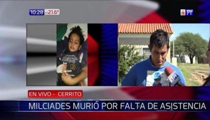 Niño murió en el Chaco porque le cerraron el camino a la asistencia