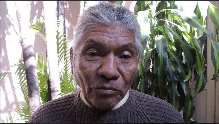 Fernández tuvo que caminar durante cuatro días en el agua para salir a tierra firme. Imagen: Tierraviva