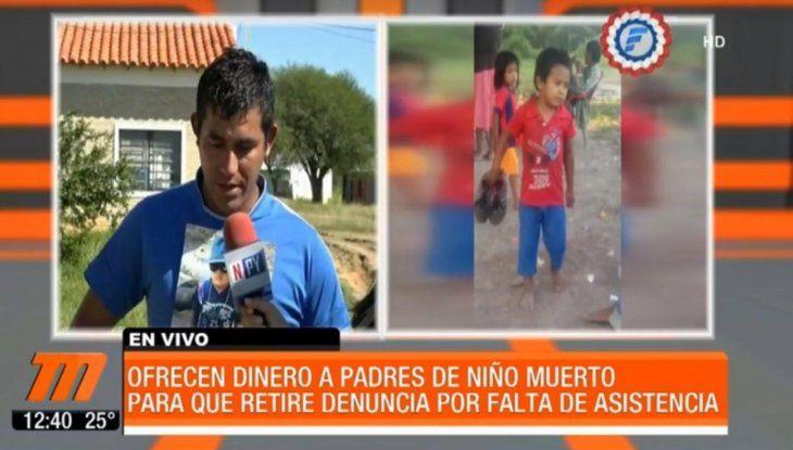 Estancieros que impidieron asistencia al niño fallecido amenazan con dejar sin trabajo al papá