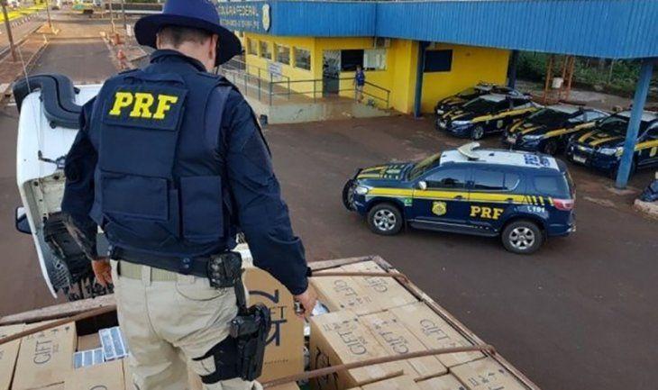 Inédito: Brasil apresa y condena en el mismo día a contrabandista de cigarrillos