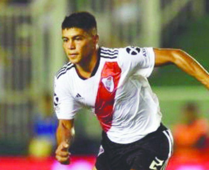 Robert Rojas poco a poco va acomodándose en River esperando una chance para ser titular. Foto: River Plate