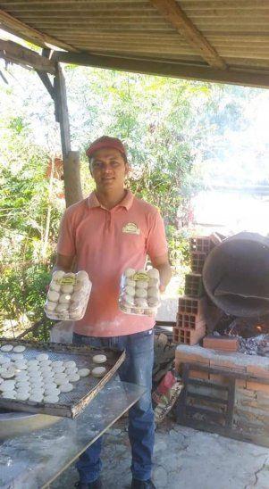 Con horno de tambor pudo armar  su propia panadería