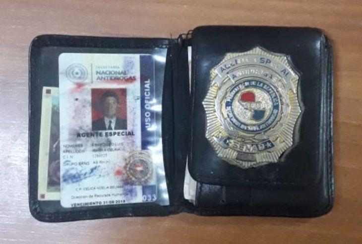 El detenido dejó todas sus pertenencias en la Comisaría.