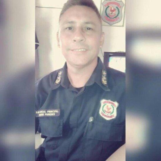 Suboficial Ramón Ignacio Paredes Vázquez