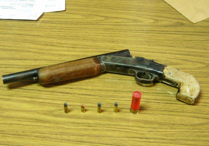 Con una escopeta de fabricación casera ocurrió la desgracia