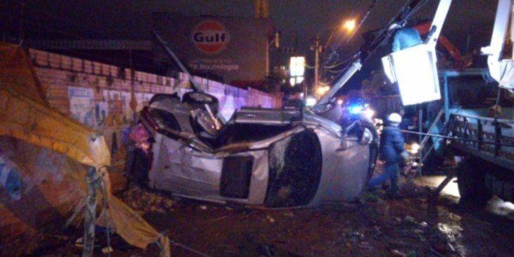 El conductor no sufrió lesiones.