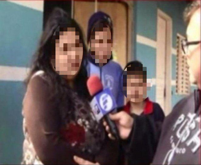 La mujer contó que la familia quedó muy afectada al perder tres integrantes inocentes.