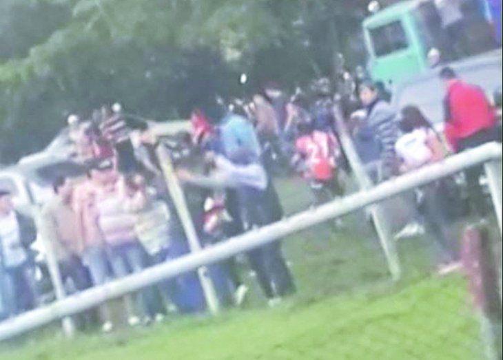 Guillermo Ruiz Díaz es apuntado por golpear a una mujer tras un encuentro futbolero. Foto: Gentileza