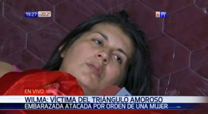 Wilma Castillo fue atada con tres disparos.