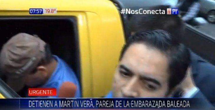 Esta mañana detuvieron a Martín Vera