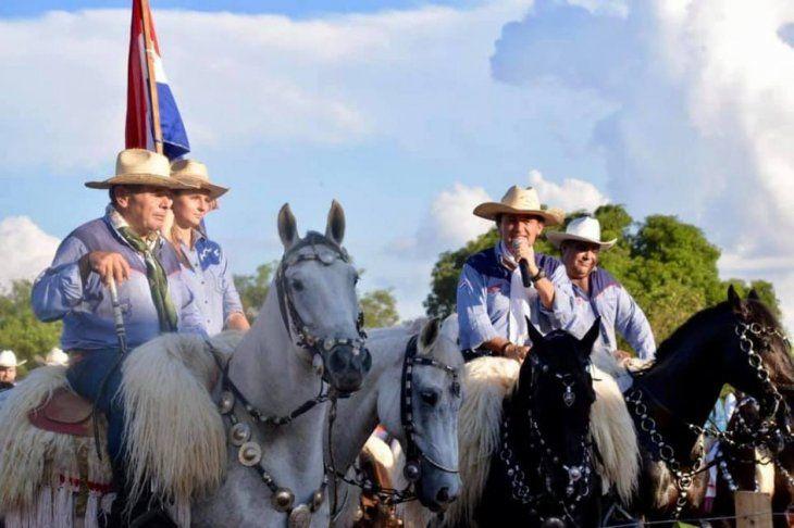 Celebra la Asociación de Jinetes del Paraguay.