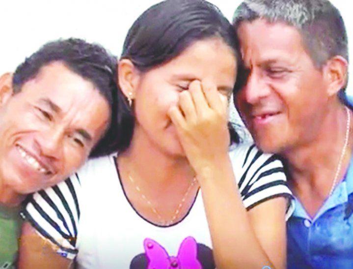 La historia de Andreza y sus maridos se dio a conocer gracias al reportaje del periodista Hilder Monçao para Costa Norte.