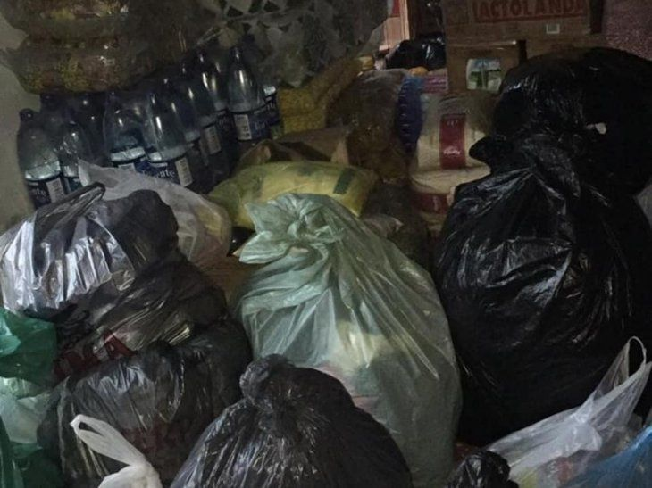 Entregaron 1.000 kilos de víveres a Puerto Diana