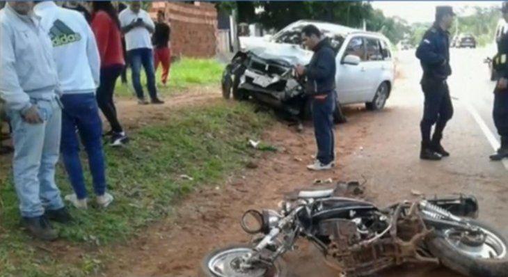 La más alta cifra de muertes en accidentes pertenece a motociclistas.