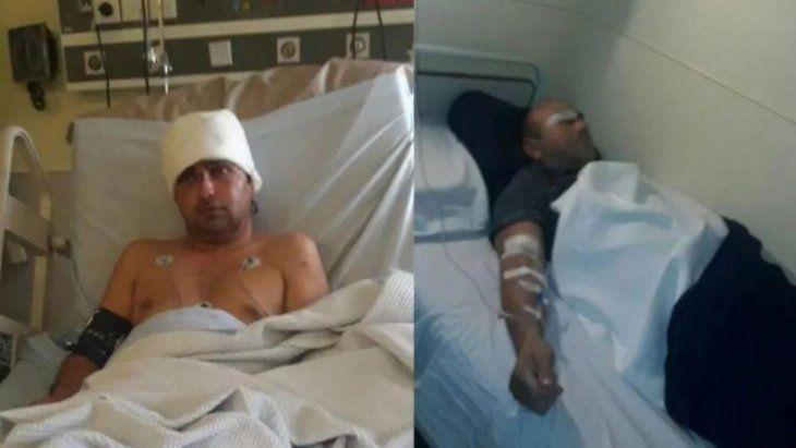 Las víctimas fueron auxiliadas hasta un hospital en grave estado.