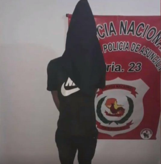José Sebastián Castillo (19) es el aprehendido.