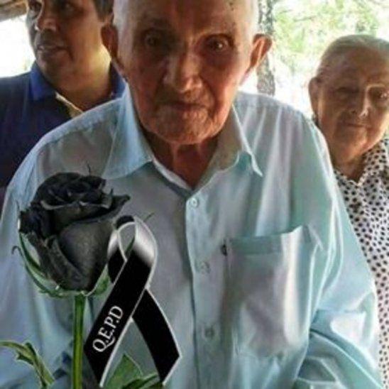 Don Juan Ramón Rivas partió con 109 años.