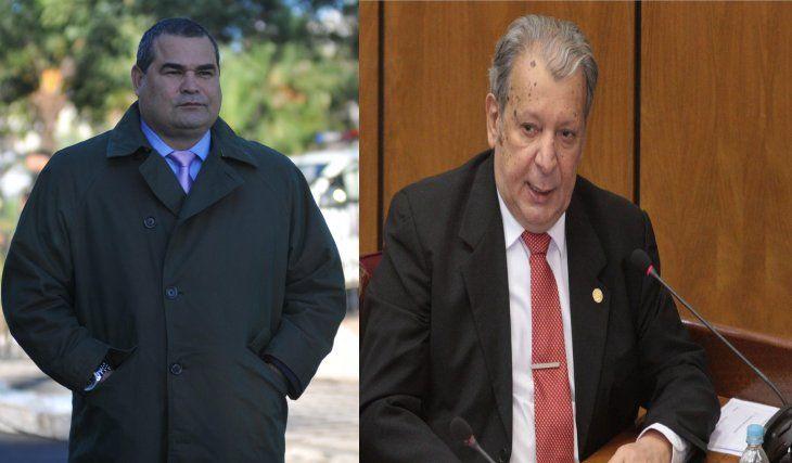 José Luis Chilavert y Juan Carlos Calé Galaverna están enfrentados.