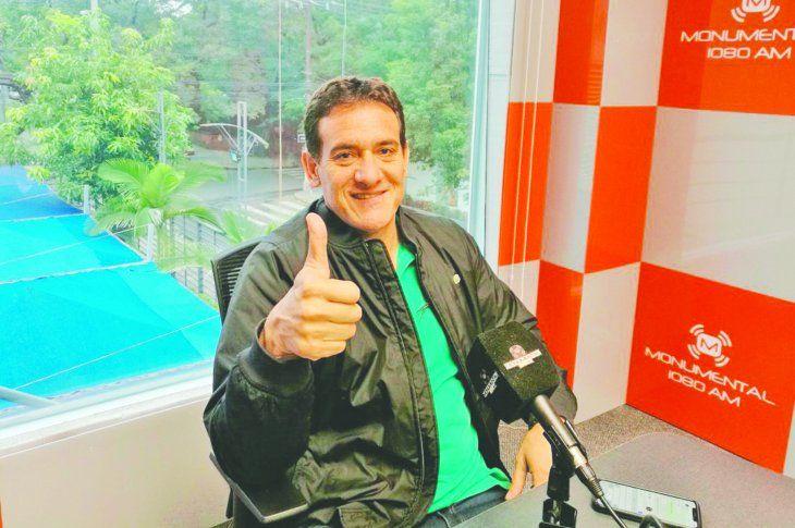 Carlos Gamarra estará comentando el amistoso de esta tarde entre Paraguay y Guatemala