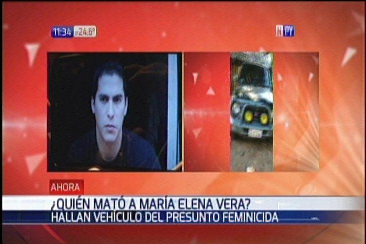 Presunto feminicida abandonó el vehículo de la víctima en su valle