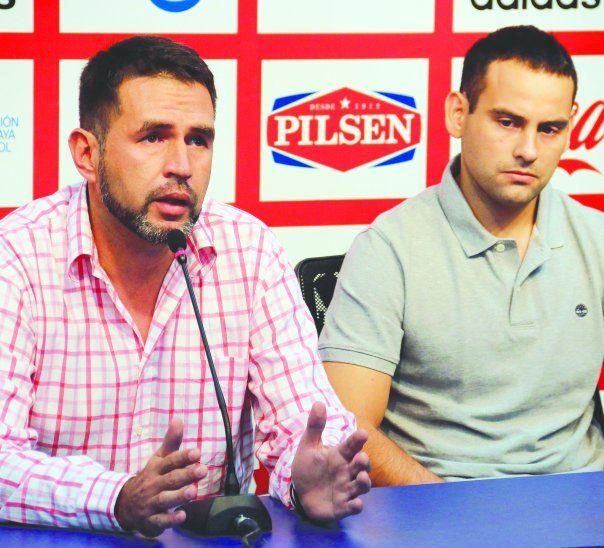Cristian Aquino (izq.) y Diego Silva (der.) descansarán pero prometen volver a arbitrar. Foto: Última Hora