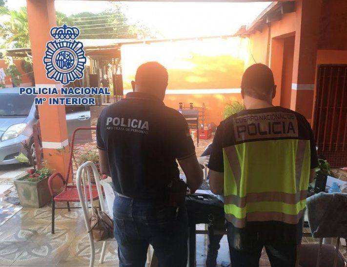 Rescatan a bebé de paraguaya prostituída en España