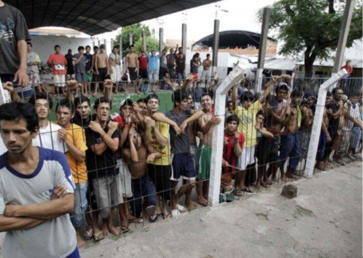 Ortiz sostiene que los reclusos deberían poder cultivas sus propios alimentos. Foto: Paraguay.com