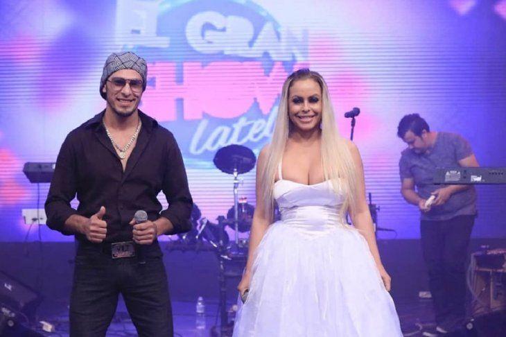 Perla Alegre se lanzó como cantante