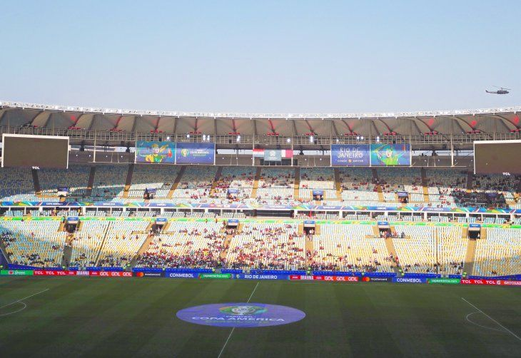 Así lució el Maracaná en el duelo entre Paraguay ante Qatar