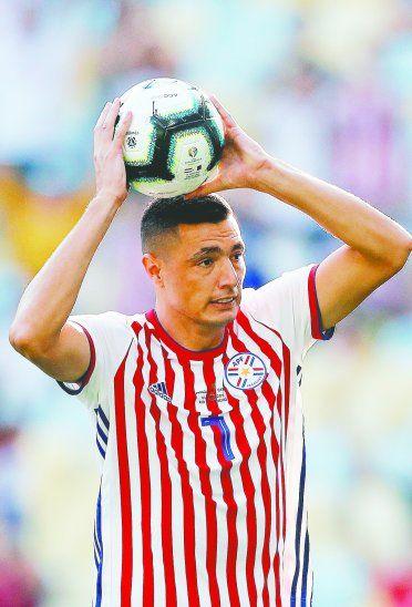 Tacuara Cardozo es una las cartas de gol de la selección paraguaya. Foto: APF