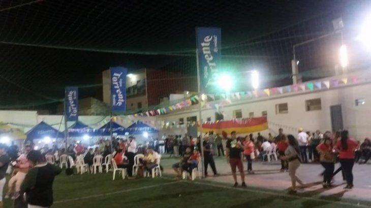 A pesar del pedido de Hugo la gente igual asistió al San Juan del Sport Colombia: Foto: Facebook